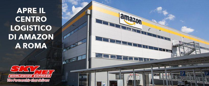 Amazon apre il suo terzo centro
