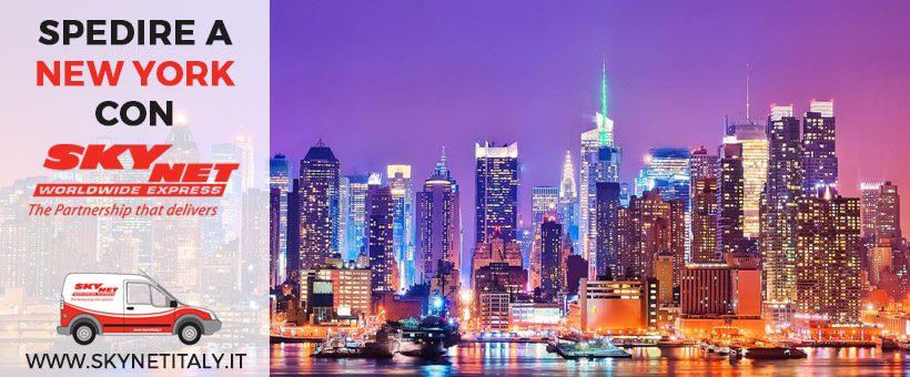 Spedire a New York