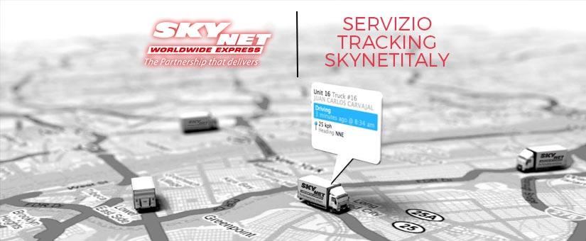 Tracking spedizione con Skynet Italy